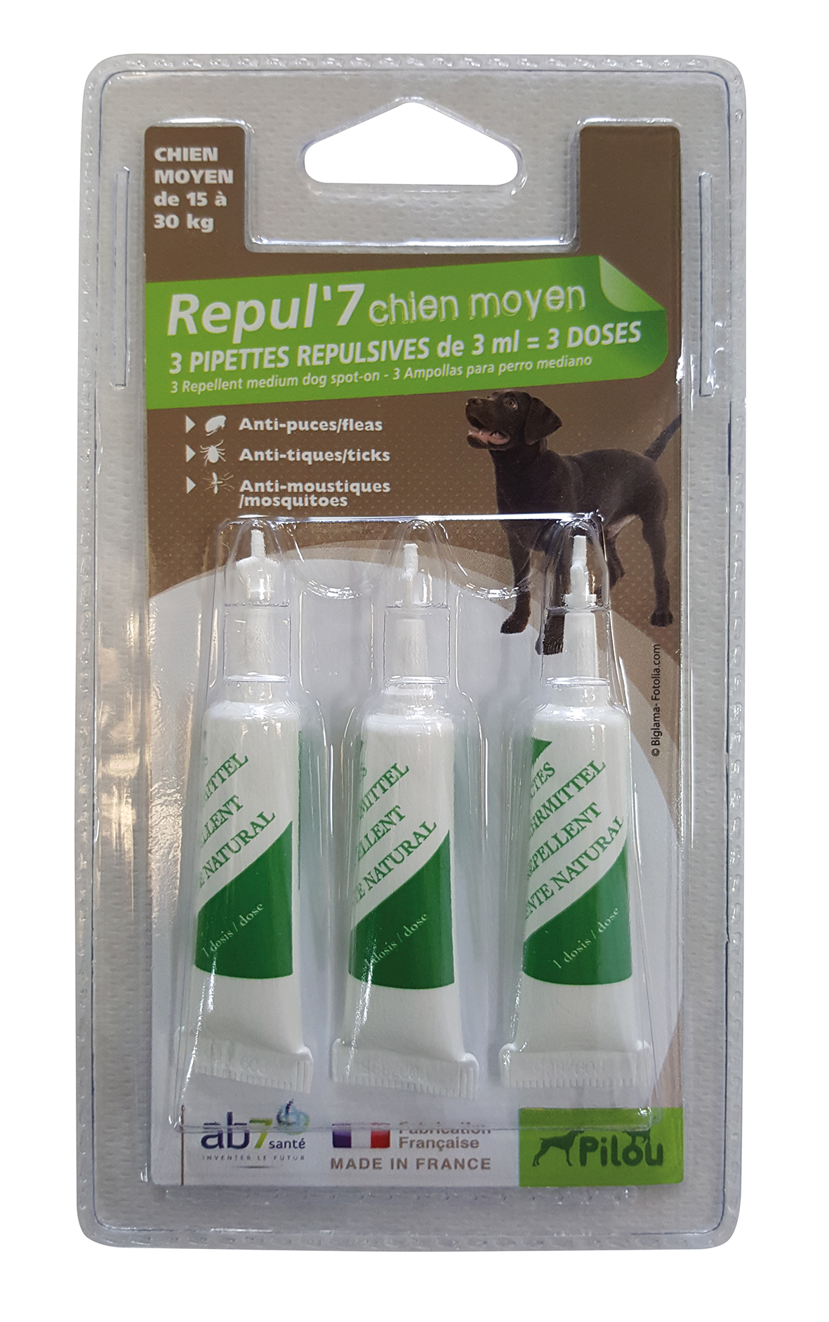173872 pipette chienmoyen 3x3ml PILOU2